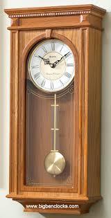 wall clocks oak pendulum wall clock seiko beaumont chiming oak