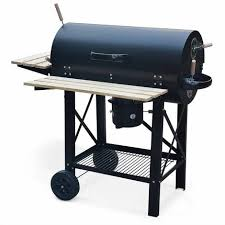 fumoir cuisine barbecue charbon de bois serge noir fumoir smoker américain