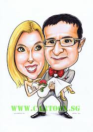 sg singapore caricature artists for gifts