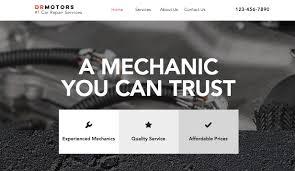 automotive u0026 cars website templates business wix