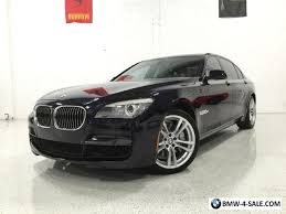 bmw 7 series 2012 2012 bmw 7 series 750li m sport luxury seating 20 m wheels for