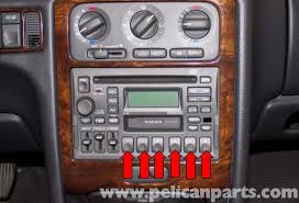 volvo v70 radio replacement 1998 2007 pelican parts diy