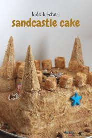 kids kitchen sandcastle cake sugar spice and glitter