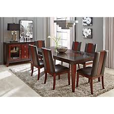 chocolate dining room table sofia vergara savona chocolate 5 pc rectangle dining room dining