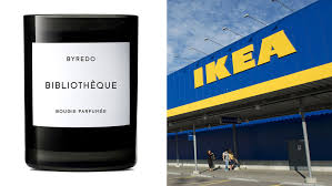 when does ikea have sales byredo candles are coming to ikea allure