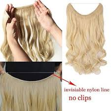 invisible line hair extensions secret wire headband hidden invisible one piece hair extensions