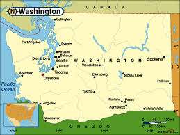map of wa state free geographical map of washington usa locations