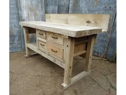 wood solid wood workbench pdf plans