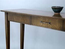 oak sofa tables custom quartersawn white oak sofa table by rin vinson millworks