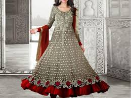 frock images indian embroidered chiffon frock price in pakistan m008795