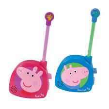 peppa pig and george walkie talkies toys