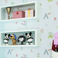 3d Wallpaper For Bedroom by Aliexpress Com Buy Beibehang Cartoon English Papel De Parede 3d