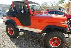 red jeep 2 door jeep cj5 base sport utility 2 door 5 0l