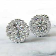 diamond ear studs white diamond earstuds dalby diamonds