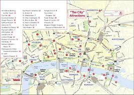 Printable World Map For Tourist Map London Printable World Maps Endear Sightseeing Of