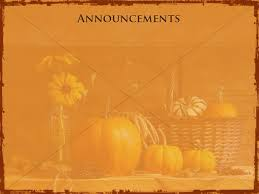 happy thanksgiving announcement slide church announcements