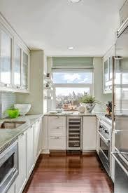 small condo kitchen design dark brown circular wooden stool with
