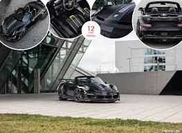 2017 techart gtstreet r cabrio based on porsche 911 turbo