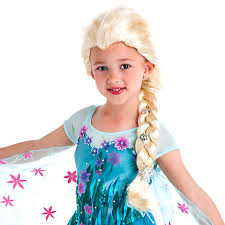 Frozen Costume Elsa From Frozen Costume Wig