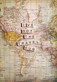 I 39 ve got the travel bug photograph by sylvia cook