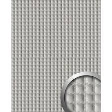 Self Adhesive Leather Wallface 16422 Quadro Wall Panel Leather Square Interior Decor