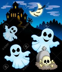 outline halloween autumn ghost stock photos royalty free outline