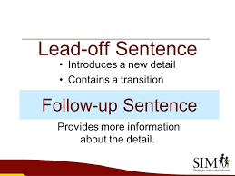 the paragraph writing strategy ppt