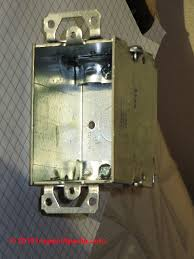 electrical box types u0026 sizes for receptacles when wiring