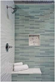 bathroom wall tile designs coastal bathroom with aqua blue subway tile agk design studio