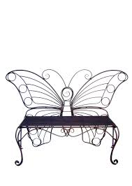 Butterfly Bench Buy Metal Garden Decor Butterfly Bench Antique Black For Sale