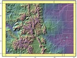 Maps Colorado Colorado Relief Map U2022 Mapsof Net