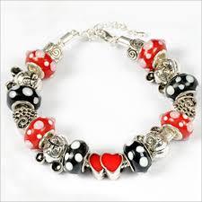 custom charms mickey mouse charm bracelet my favorite