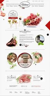 website design erstellen 78 best food beverage website collection images on