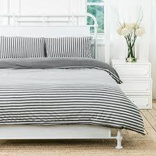 Pillow And Duvet Set Amazon Com Pure Era Jersey Knit Cotton Soft Comfy 3 Pieces Home