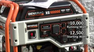 generac 5802 xg10000e youtube
