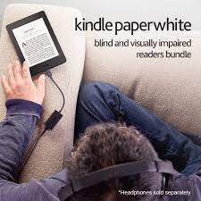 What Is Blind Shipping Kindle Paperwhite Blind And Visually Impaired Reader U0027s Bundle