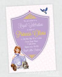 sofia the first birthday party invites inspiration made simple