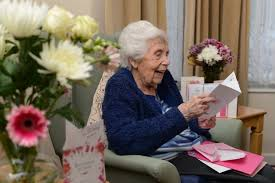 100 year old woman receives more than 600 birthday cards from