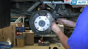 how to install do a rear drum brake job 2007 13 chevy silverado