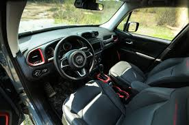 jeep trailhawk 2015 interior 2015 jeep renegade trailhawk off road review