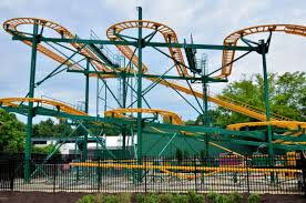 Six Flags Rollercoaster Six Flags America Opens Ninth Roller Coaster New Mardi Gras