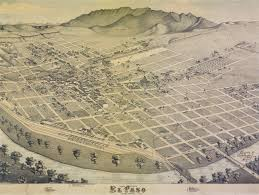 Zip Code Map El Paso by Historic Pictures And Maps Of Old El Paso Fort Bliss Post Live