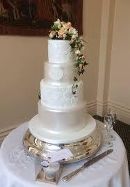 lace wedding cake rochford essex the lawn 11th march 2017