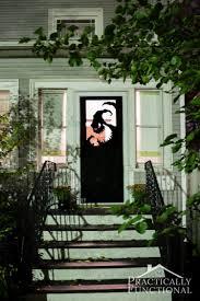 scary halloween door decorations