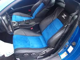 Nissan 350z Blue - 2010 nissan 350z leather seats purich
