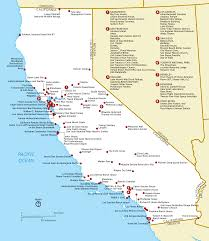 California Missions Map File California Nhl Png Wikimedia Commons