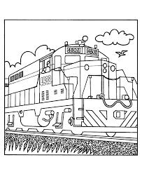 impressive design trains coloring pages free printable train