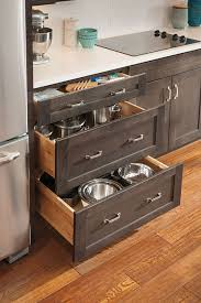 drawers kitchen cabinets aokbase3drwrmfgss base drawer unit to left of drop in stove