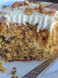 pineapple pecan carrot cake together as family