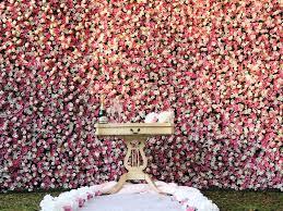 flower wall rental flowers shingle springs ca weddingwire